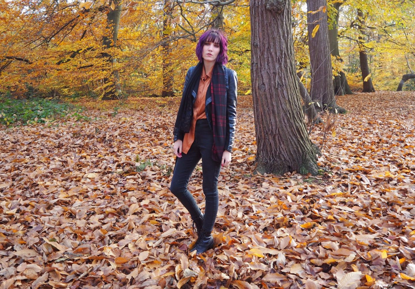 Blogging motivation autumn outfit