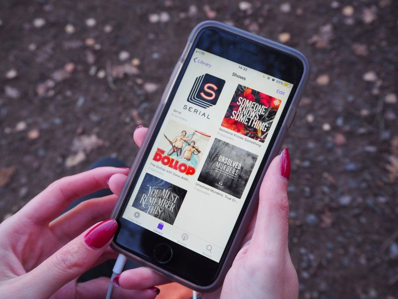 Podcasts- feature page