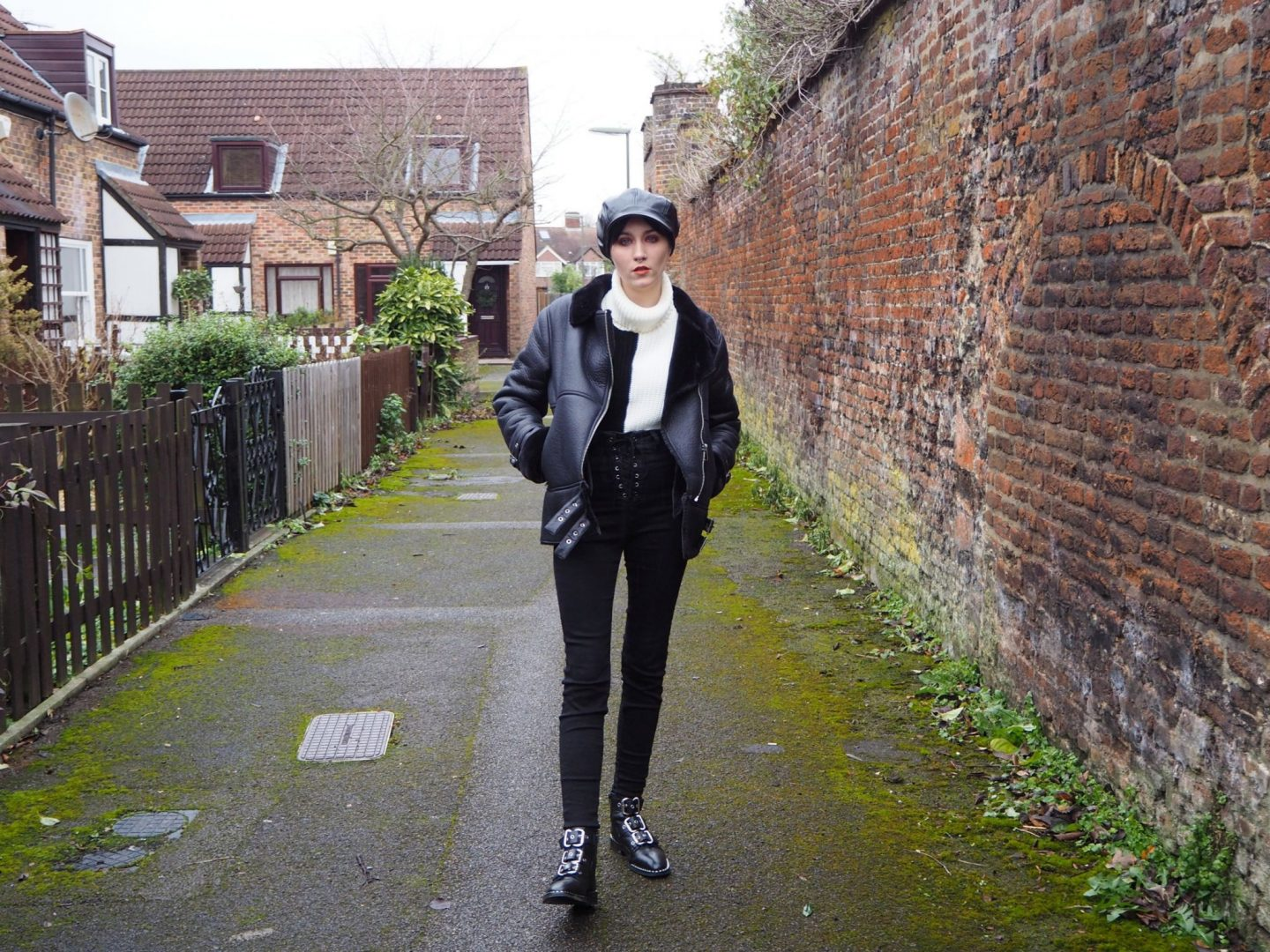 confidence: monochrome outfit