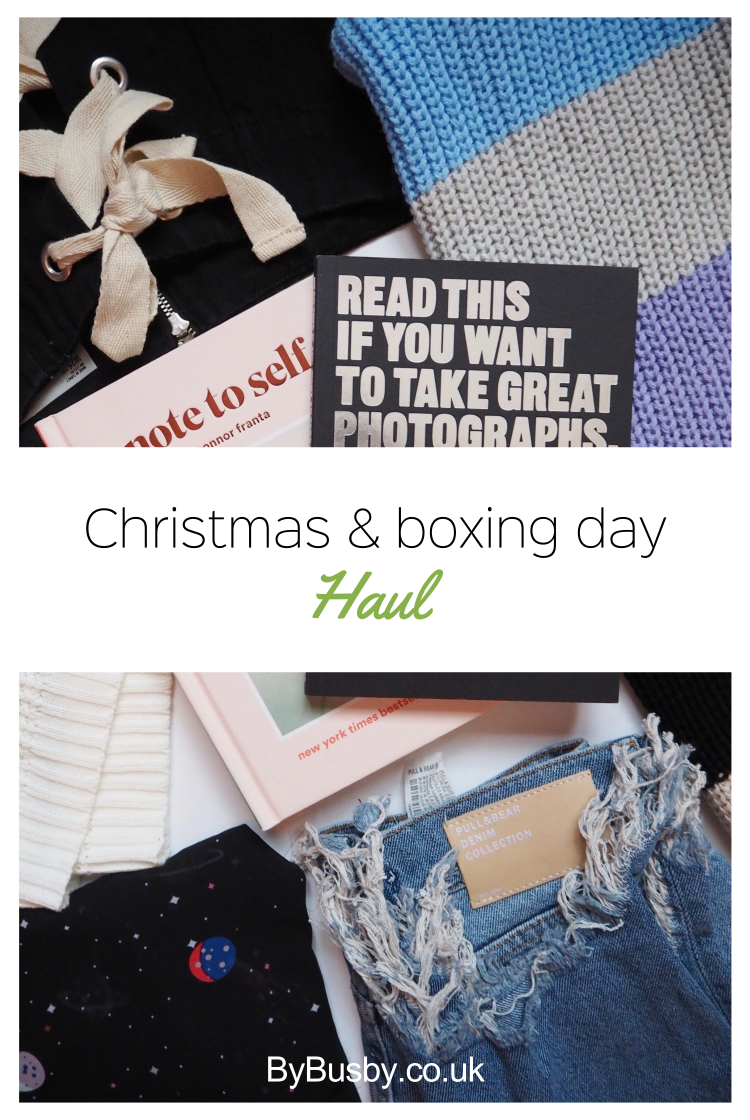 festive haul - Christmas & Boxing Day haul