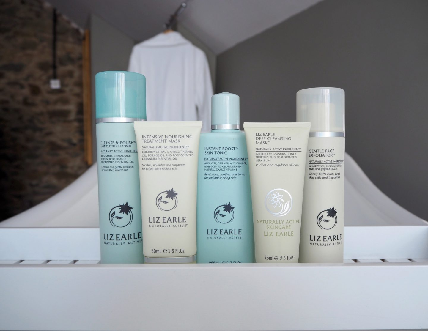 A Liz Earle Review - product flatlay