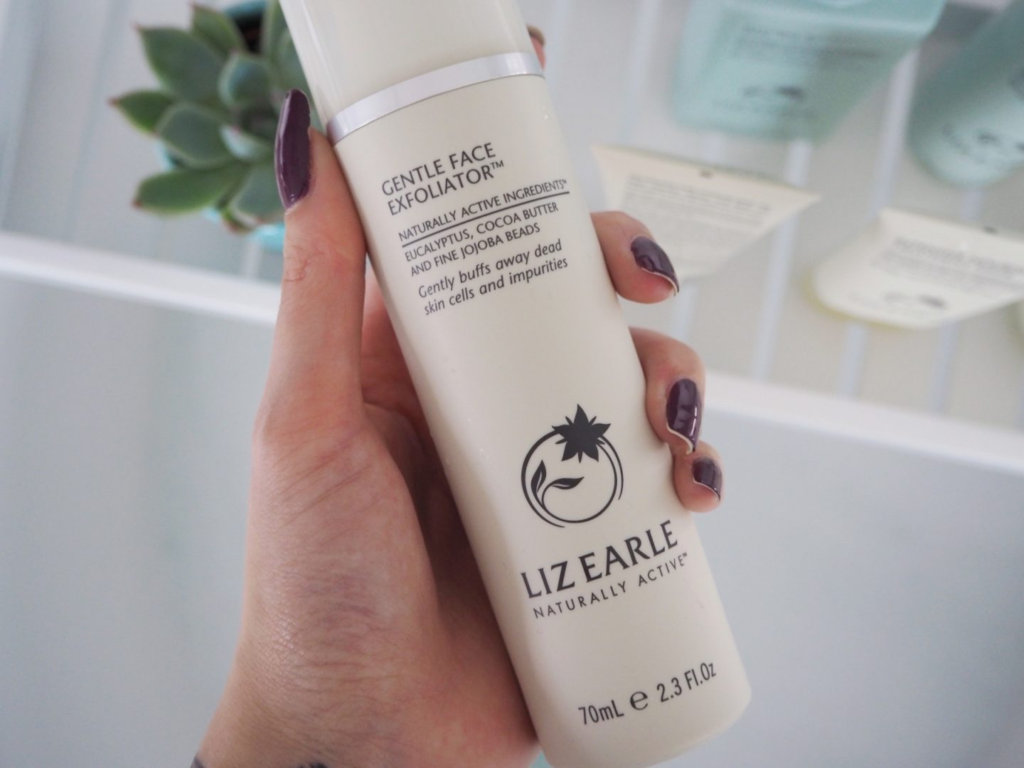 A Liz Earle Review - gentle face exfoliator