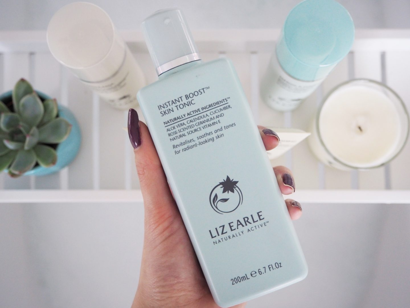 A Liz Earle Review - instant boost skin tonic