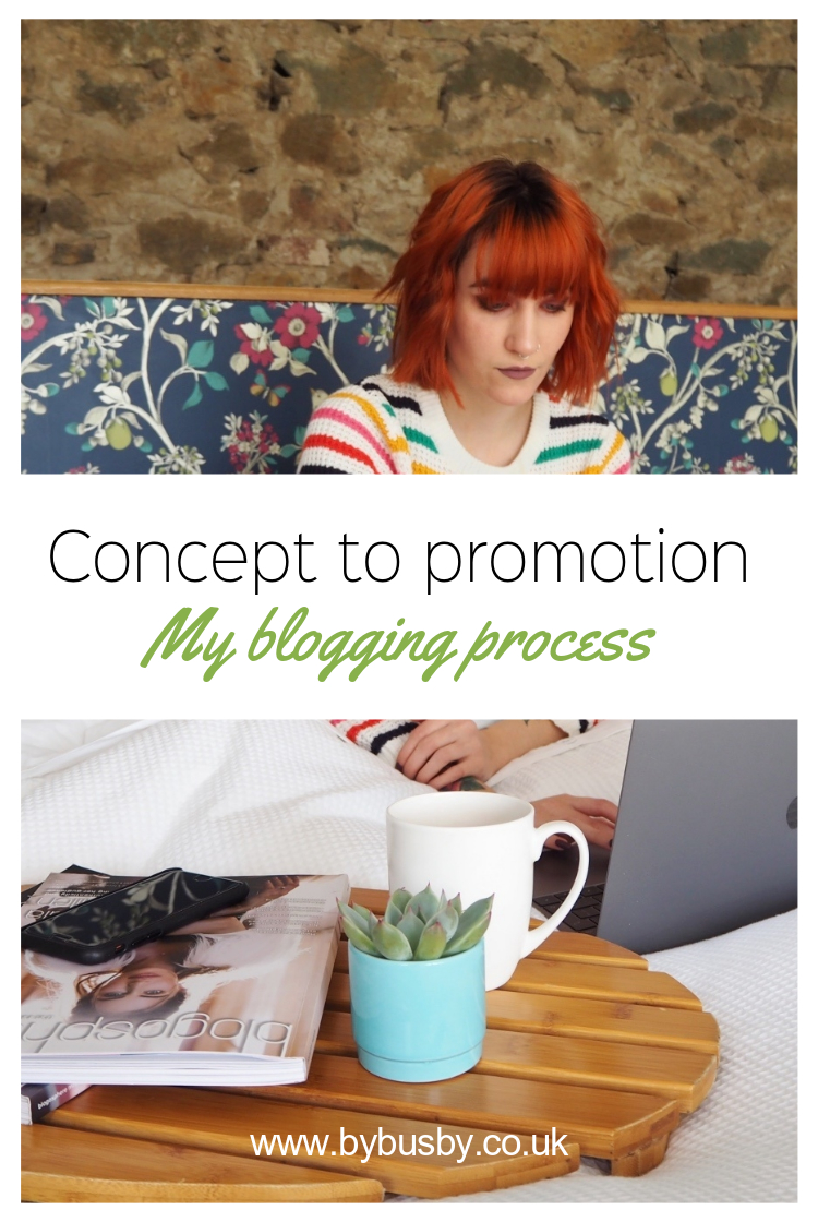 concept to promotion - Pinterest graphic