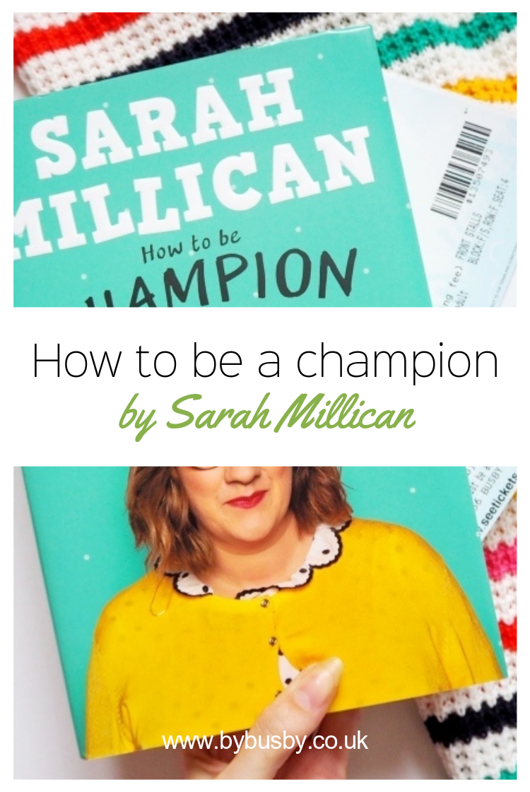 how to be a champion - Pinterest graphic