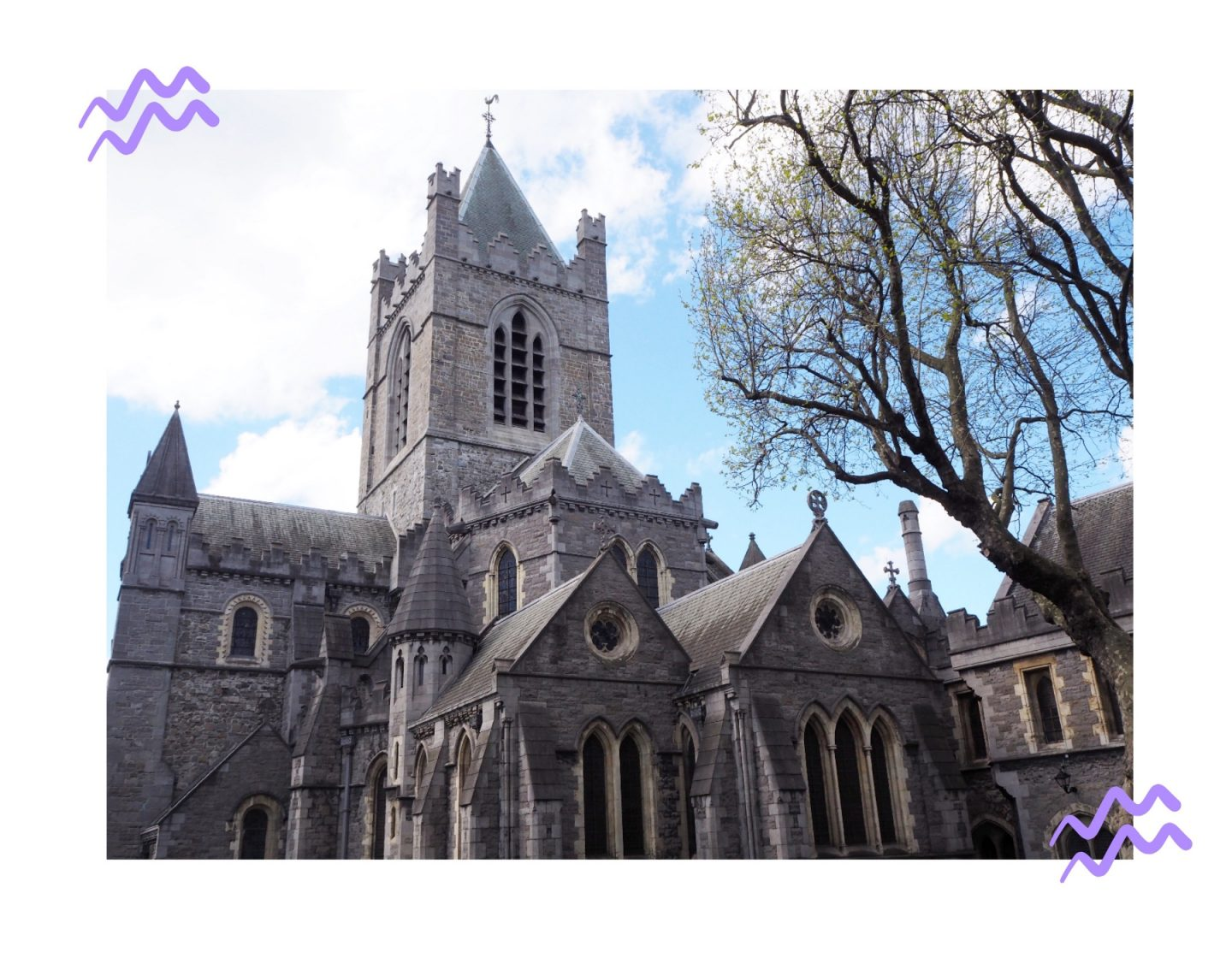 Dublin diaries; Exploring & Guinness tour - christ church cathedral