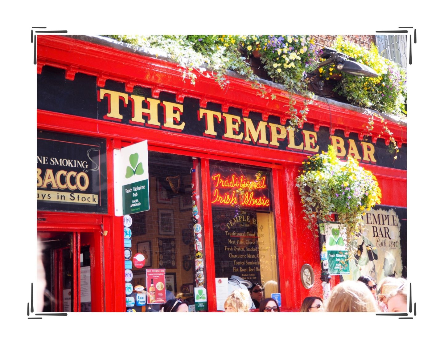 Dublin diaries; Exploring & Guinness tour - temple bar