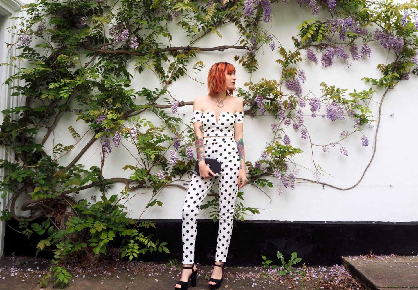 Reinventing Prom with boohoo - full outfit front view