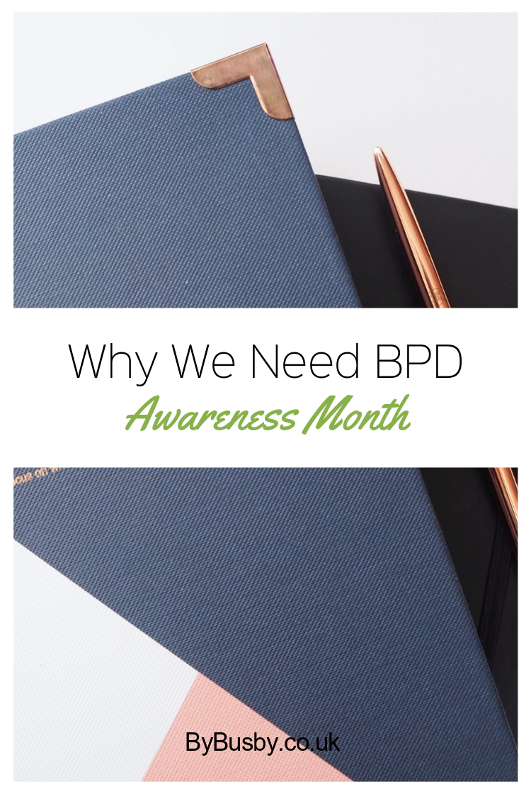 BPD awareness - Pinterest graphic
