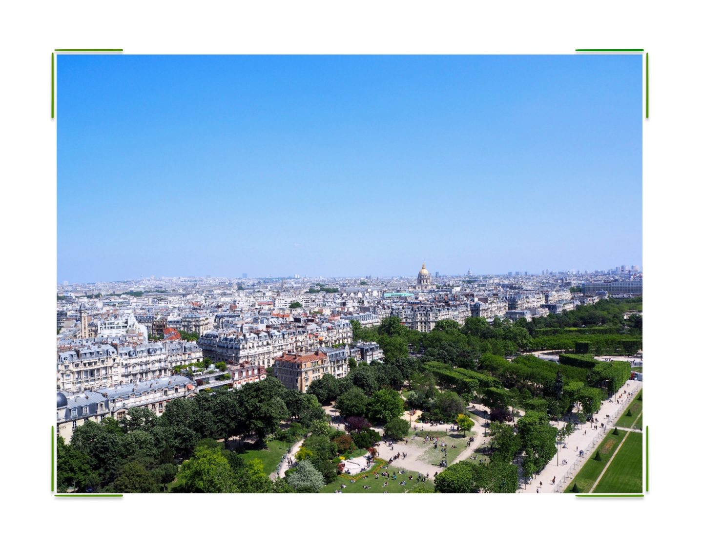 Exploring Paris; Montmartre & The Louvre -view from Eiffel Tower