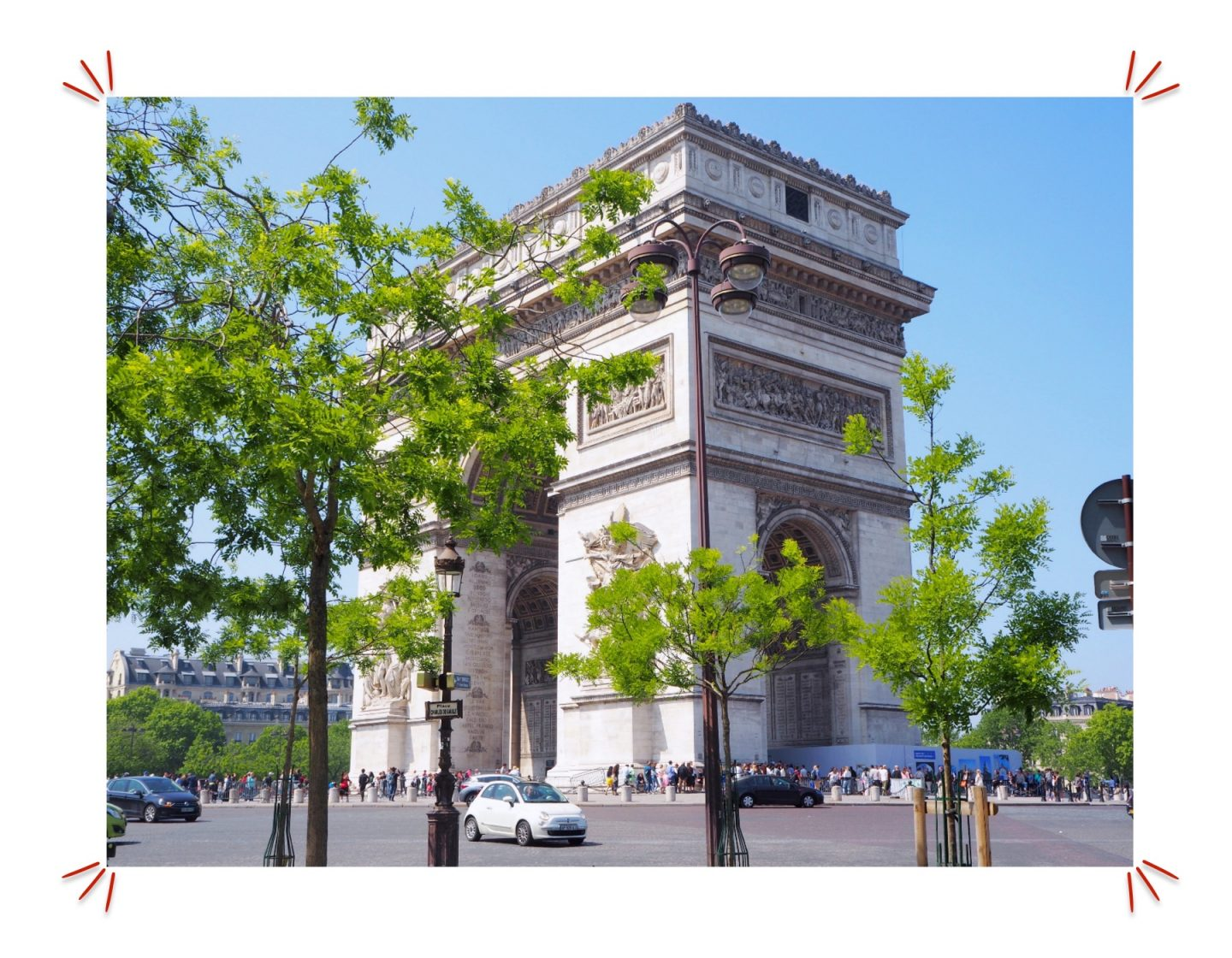 Exploring Paris; Tourist Hotspots & Macaroons Shopping - arc de triomphe
