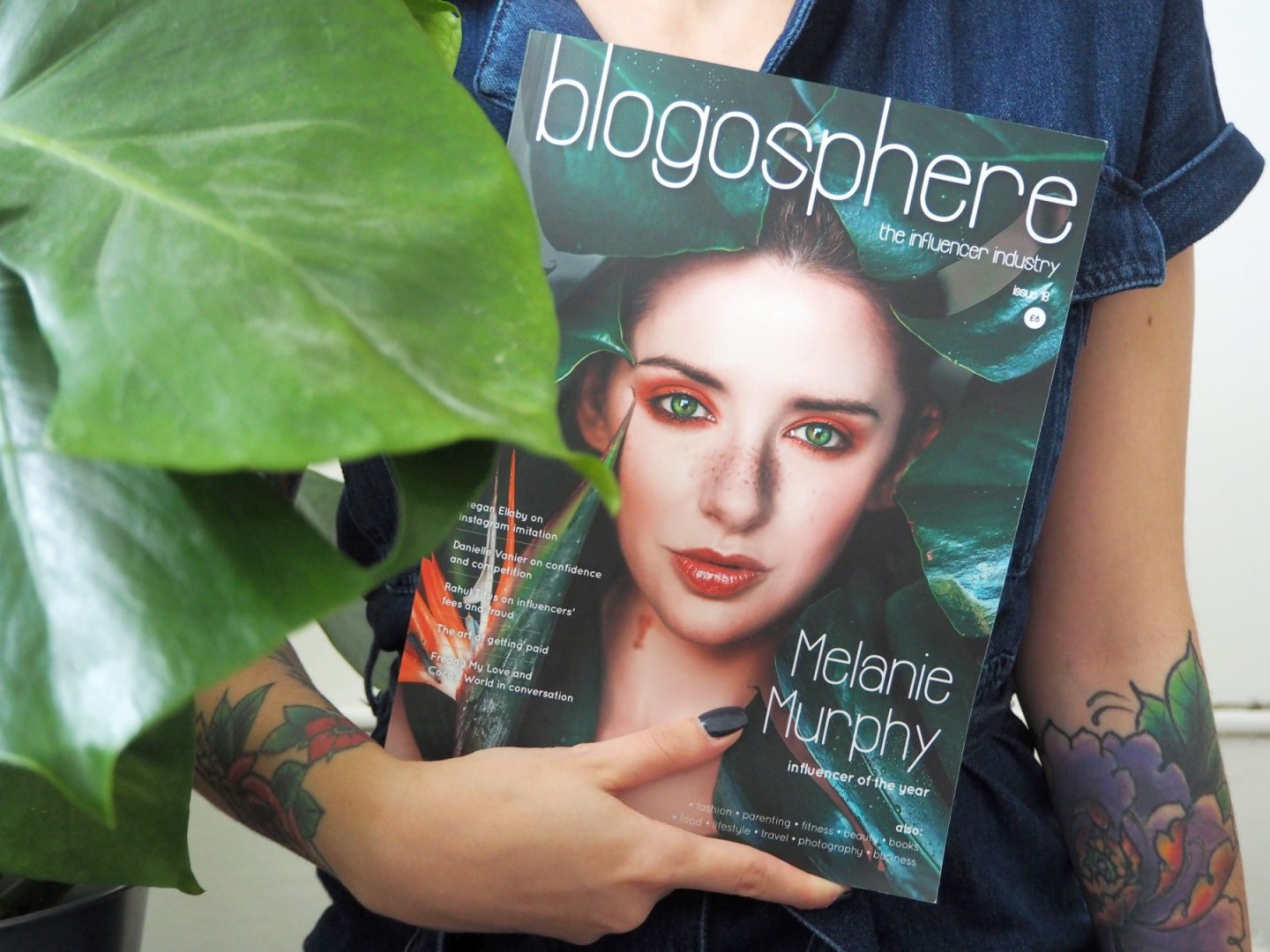 Has The Blogging Community Become Toxic? - me holding blogosphere with leafy plant