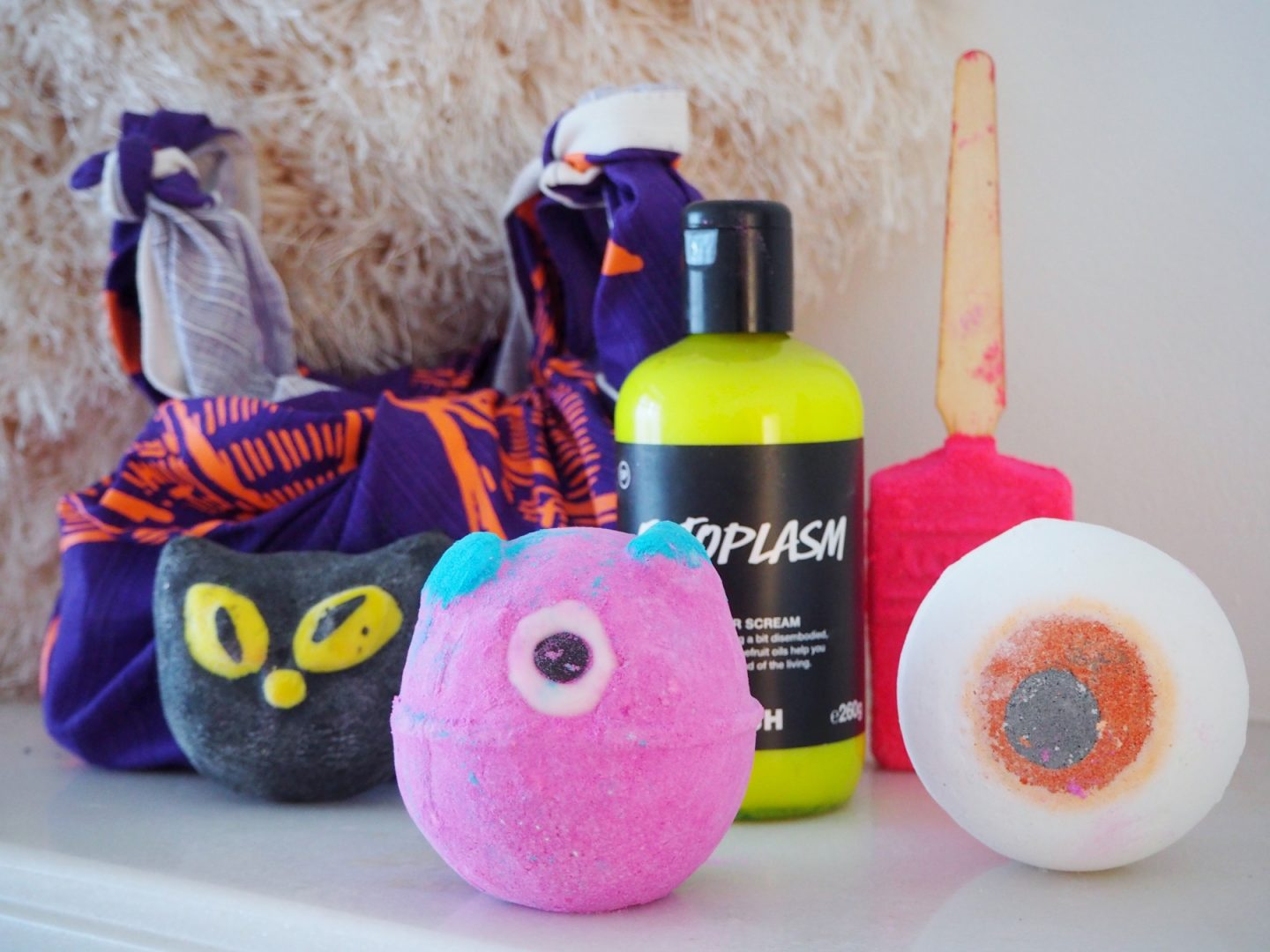 A Halloween Lush Haul - all products