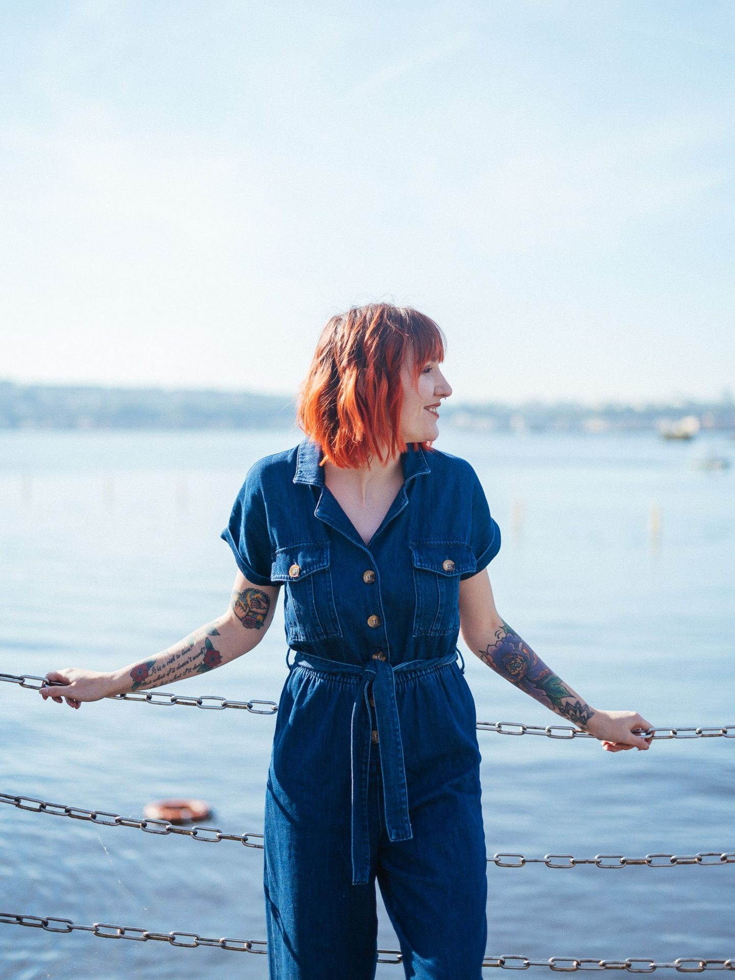 Feeling The Pressure Of Trends & When They Don't Work For You - denim jumpsuit