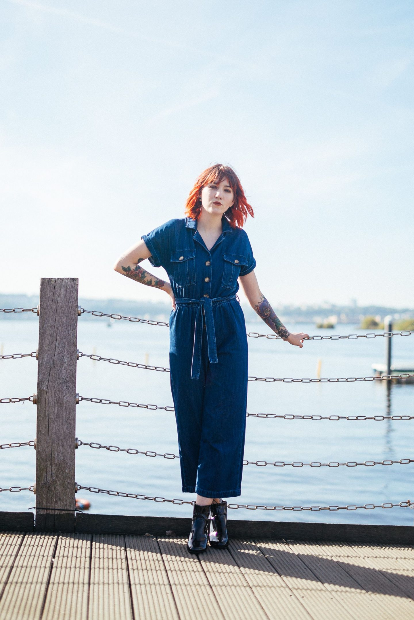 Feeling The Pressure Of Trends & When They Don't Work For You - full outfit; jumpsuit & boots