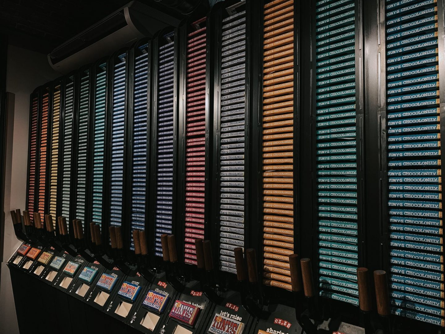 72 Hours In Amsterdam - tony's chocolate display