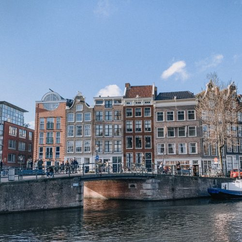72 Hours In Amsterdam - canal view