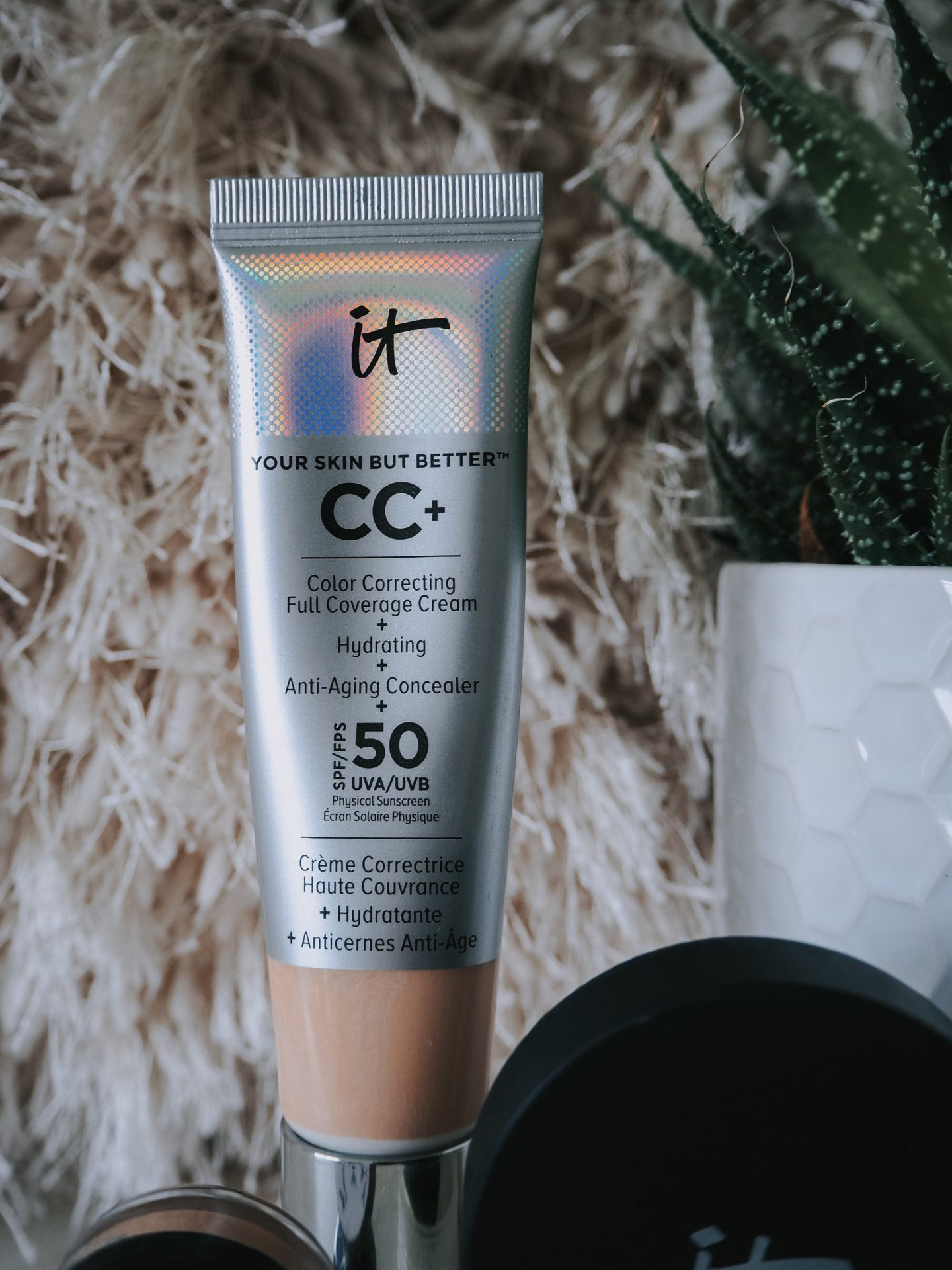 An Introduction To It Cosmetics - close up of cc cream