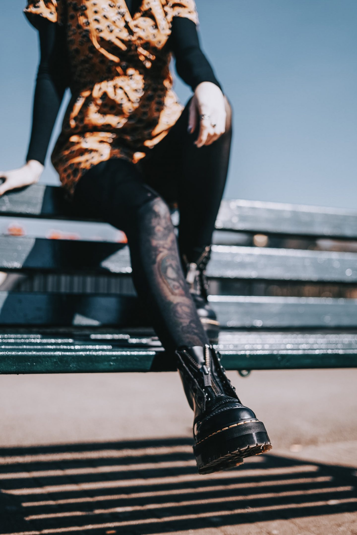 My Identity Crisis In Motherhood | I'm Not Just A Mum - close up of dr Martens sinclairs