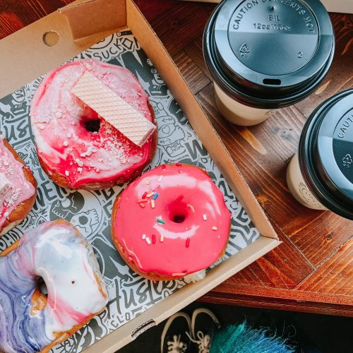 life lately - doughnuts & coffee