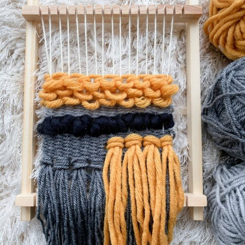 Craft Kits To Get Creative With - weave on loom