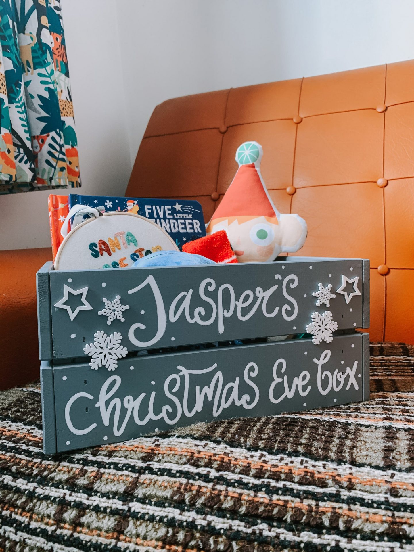 Our Christmas Eve Box For A One Year Old - full box